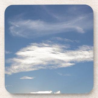 blue sky beverage coaster