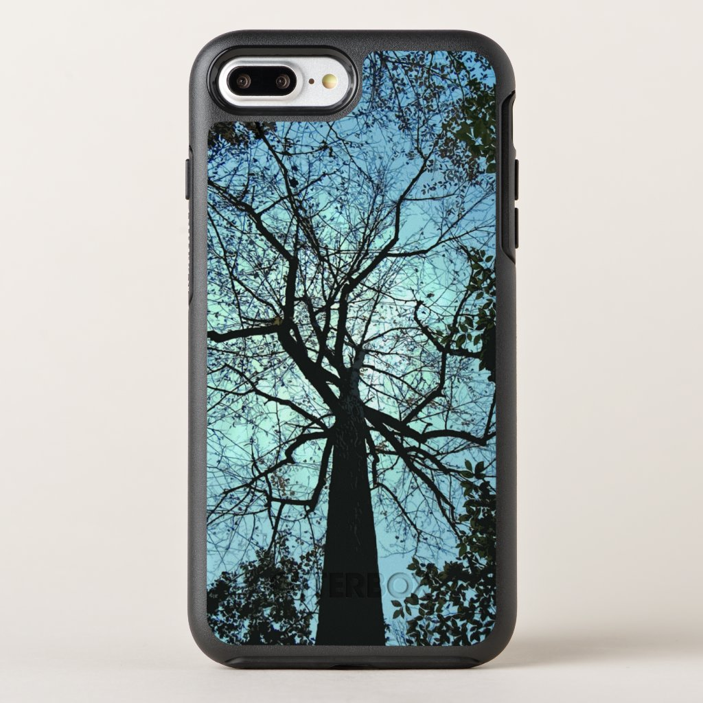 Blue Sky Black Tree OtterBox Symmetry iPhone 7 Plus Case