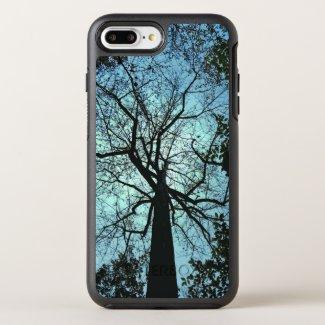 Blue Sky Black Tree OtterBox Symmetry iPhone 7 Plus Case