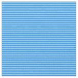[ Thumbnail: Blue & Sky Blue Lines Fabric ]
