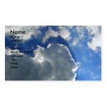 Blue Sky Business Card Templates