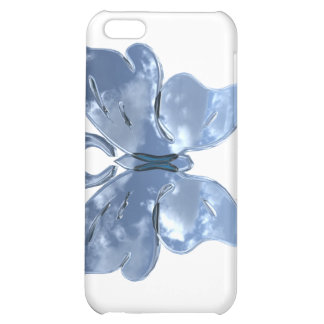 Blue Sky Butterfly iPhone 4 Case