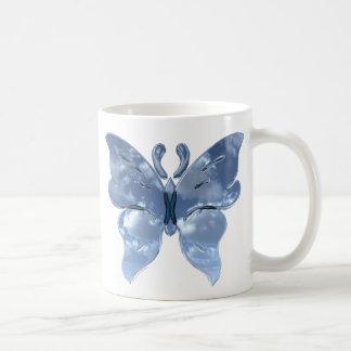 Blue Sky Butterfly Mug