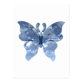 Blue Sky Butterfly Postcard