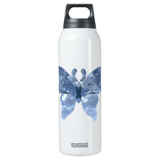Blue Sky Butterfly 16 Oz Insulated SIGG Thermos Water Bottle