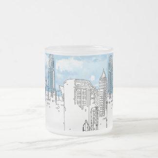 Blue Sky-City Line Designed by RokCloneDesigns Mug