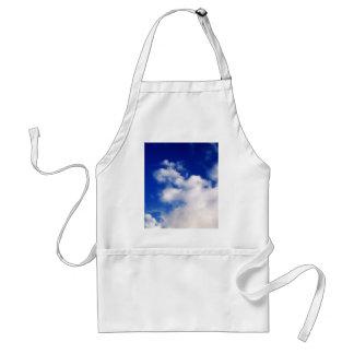 Blue Sky & Clouds Adult Apron