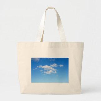 Blue Sky & Clouds Tote Bag