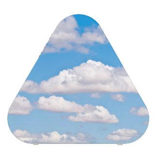 Blue sky clouds bluetooth speaker