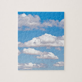 Blue sky clouds jigsaw puzzle
