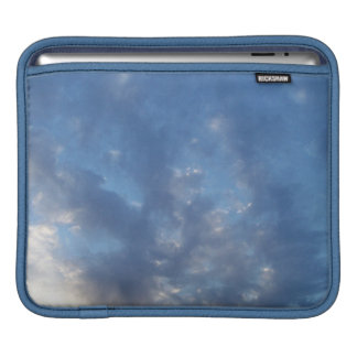blue sky clouds nature sleeve for iPads