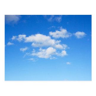 Blue Sky & Clouds Postcard