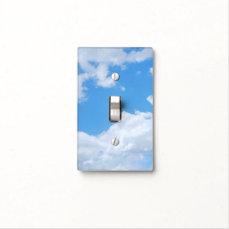 Blue Sky | Custom Light Switch Cover