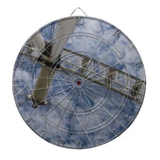 Blue Sky Dartboard With Darts