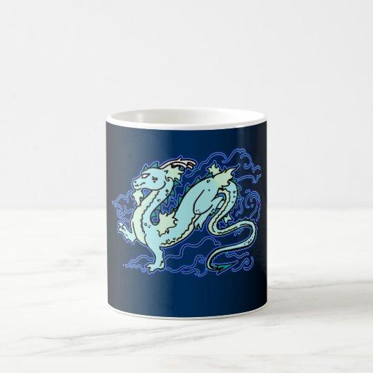 Blue Sky Dragon Magic Mug