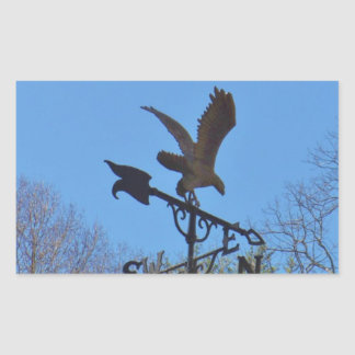 Blue sky, Eagle and Arrow Weather vane Stickers
