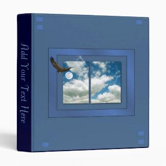 Blue Sky & Eagle Binder
