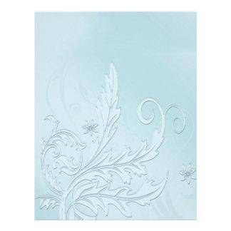 Blue Sky Floral Letterhead