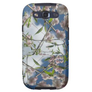 Blue Sky Flowers Galaxy SIII Cases