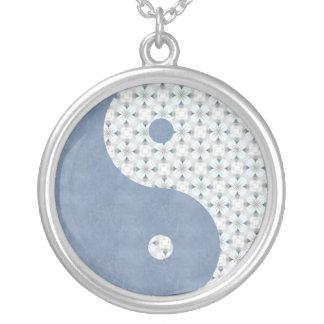 Blue Sky Flowers Yin Yang Jewelry