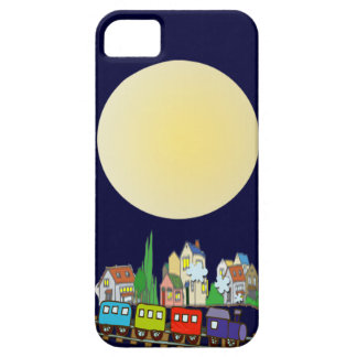 Blue sky full moon iPhone 5 covers