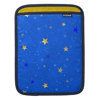 Blue Sky Golden Stars iPad Sleeve