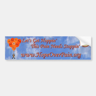Blue Sky Help Solve the Mystery CRPS RSD Balloons Bumper Stickers