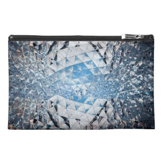 Blue Sky in Crystals Travel Accessories Bags