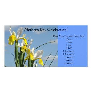 Blue Sky Invitations Mother's Day Celebration Card Photo Card