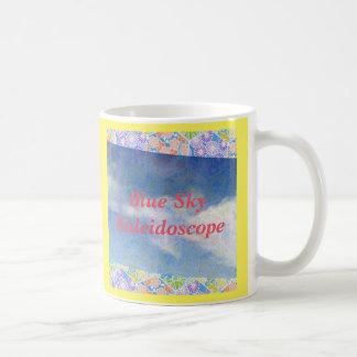 Blue Sky Kaleidoscope Coffee Mug