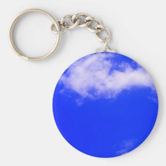 Blue Sky Keychain
