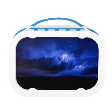 Beach Themed Blue Sky Lightning Lunchbox