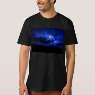 Blue Sky Lightning T-Shirt