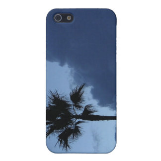 Blue Sky Lone Palm Tree Covers For iPhone 5