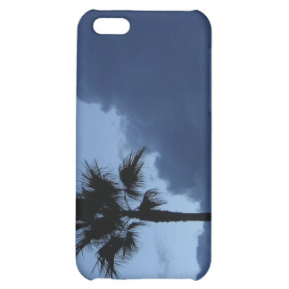Blue Sky Lone Palm Tree iPhone 5C Cover