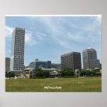 Blue Sky Milwaukee Poster