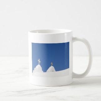 Blue Sky Mykonos Coffee Mug