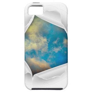 Blue Sky Nature Photo iPhone SE/5/5s Case