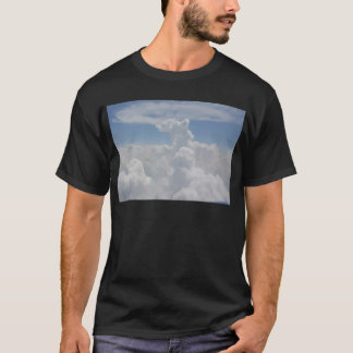 Blue Sky Nature White Puffy Cloud Formations T-Shirt