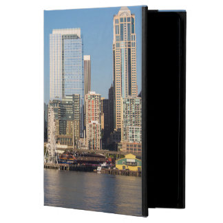 Blue sky over the Elliott Bay waterfront Cover For iPad Air