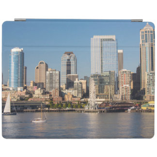 Blue sky over the Elliott Bay waterfront iPad Smart Cover