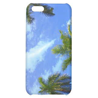 Blue Sky, Palm Trees! iPhone 5C Covers