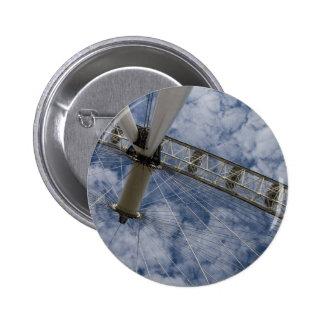 Blue Sky Pinback Button