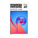 Blue Sky Postage Stamp