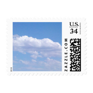 Blue Sky Postage Stamp