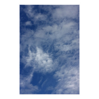 Blue sky. poster