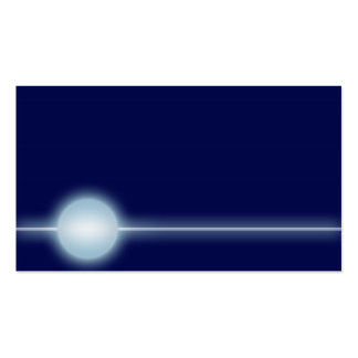 Blue/Sky Powerball B Business Card Template