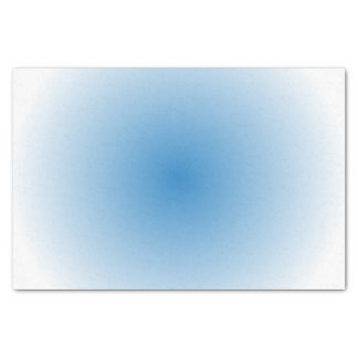 "Blue Sky Radial Gradient 10"" X 15"" Tissue Paper"