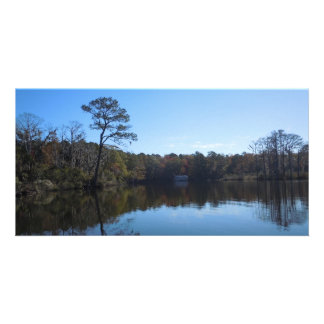 Blue Sky Reflections - Beaufort County, NC Card