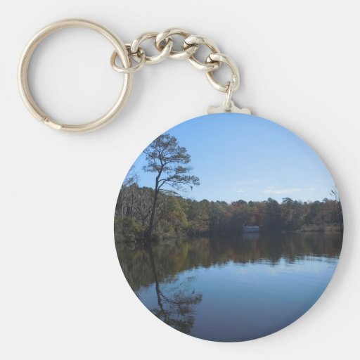 Blue Sky Reflections - Beaufort County, NC Key Chain